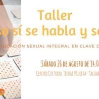 26/8 | Taller de Eso sí se habla y se juega. La ESI en clave de juego